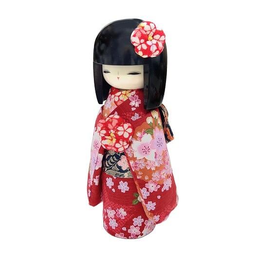 Kokeshi Kyo-Bijin(S)Red sample1