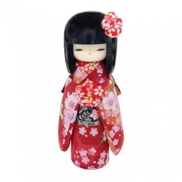 Kokeshi Kyo-Bijin(S)Red sample2