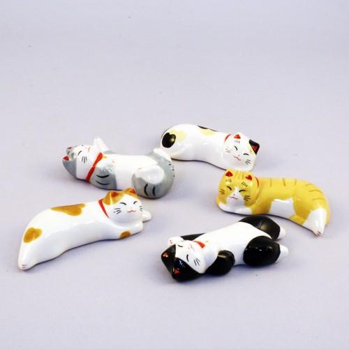 Cat Chopstick rest set sample1