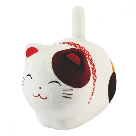 Solar Powered Cat  (White)