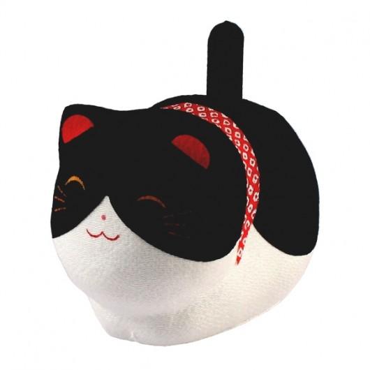 Solar Powered Cat Black