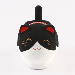 Solar Powered Cat Black