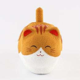 ゆらゆらソーラー座り猫 トラ