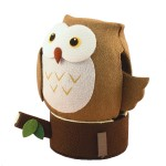 Solar Powered Owl (Brown)