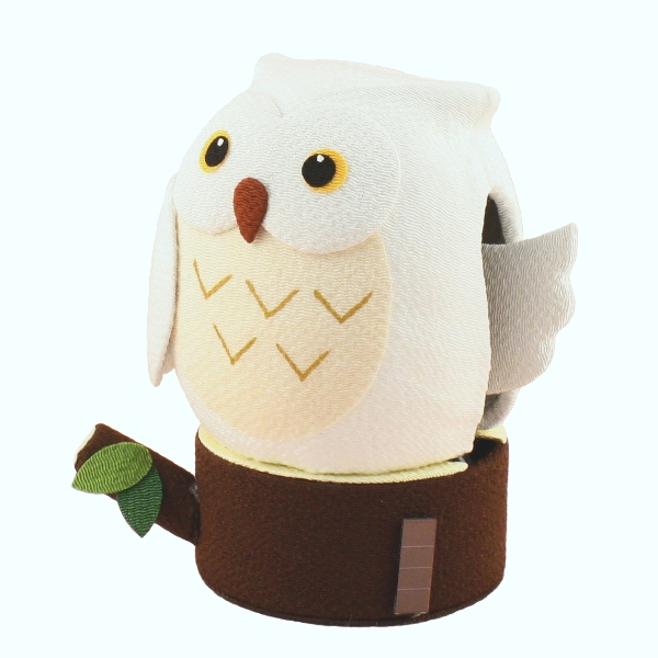 Solar Powered Owl (White)