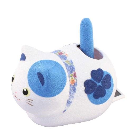 Solar Powered Cat Blue
