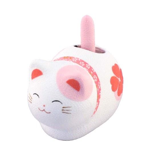 Solar Powered Cat Pink