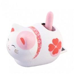 Solar Powered Cat Pink sample2