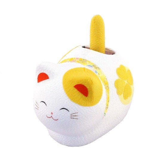 Solar Powered Cat Yellow sample1