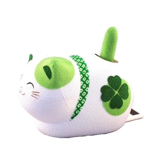 Solar powered Cat Green