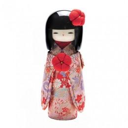 Kokeshi Kyo-Bijin  Kinran(S)Pink sample2