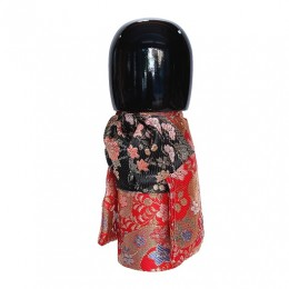 Kokeshi Kyo-Bijin Kinran(S)Red sample2