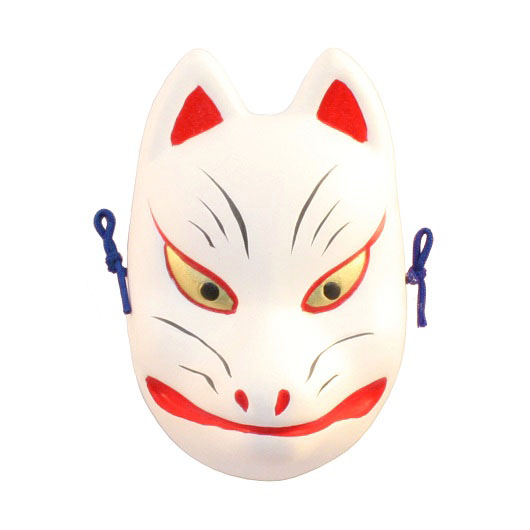 Mask Fox no.3 (for ornamental)