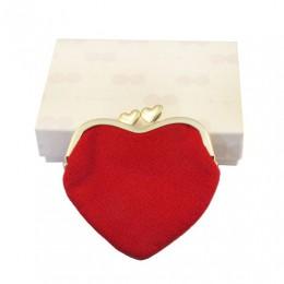 Chirimen Heart-shaped Wallet sample3