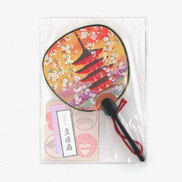 Round Fan Letter Set Pagoda sample1