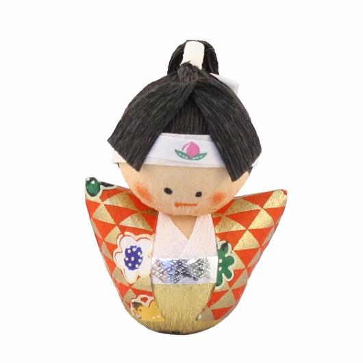 和紙 起き上がり人形 桃太郎