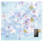 Handkerchief Kyoto-Yuzen Light Blue