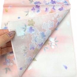 Handkerchief Kyouto-Yuzen 金桜 ピンク sample2