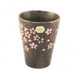 フリーカップ 桜 (茶)