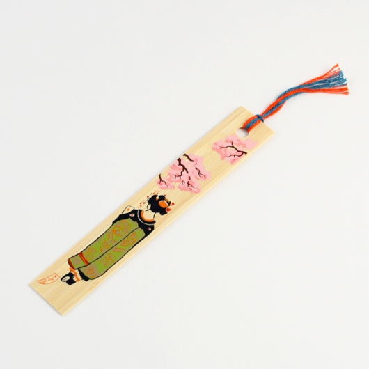 Bamboo Bookmark  Maiko Sakura sample1