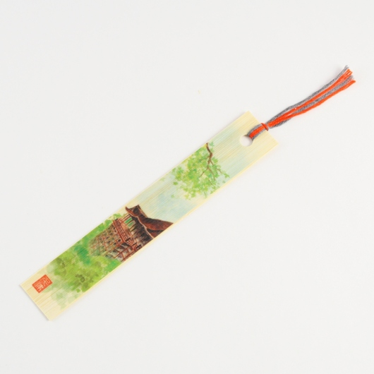 Bamboo Bookmark  Kiyomizu Temple Summer