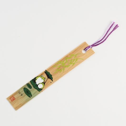 Bamboo Bookmark Frog