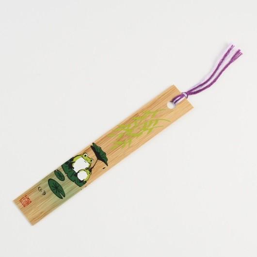 Bamboo Bookmark Frog sample1