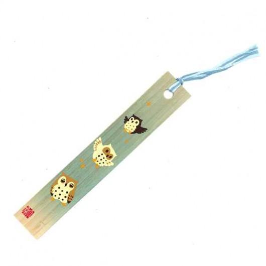 Bamboo Bookmark  Owl