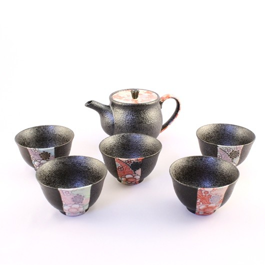 Tea Pot Set for Five sample1