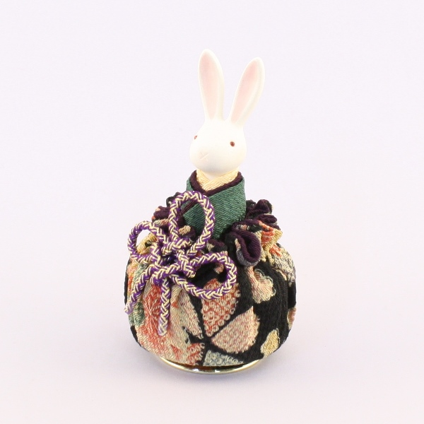 Music Box Rinka Rabbit (Black)