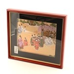 "Framed Picture ""Aoi Festival"""